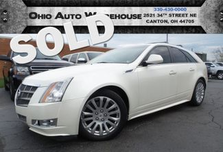 2010 Cadillac CTS Wagon Premium AWD Navi Pano Clean Carfax We Finance | Canton, Ohio | Ohio Auto Warehouse LLC in  Ohio