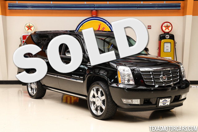 2010 Cadillac Escalade ESV Premium Financing is available with rates as low as 29 wac Get pre