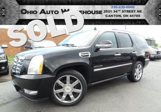 2010 Cadillac Escalade Hybrid 4x4 Navi Tv/DVD Sunroof Cln Carfax We Finance | Canton, Ohio | Ohio Auto Warehouse LLC in  Ohio
