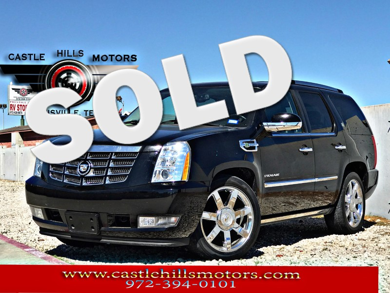 2010 Cadillac Escalade Hybrid  **INCLUDES 2 YRS FREE MAINTENANCE**  in Lewisville Texas