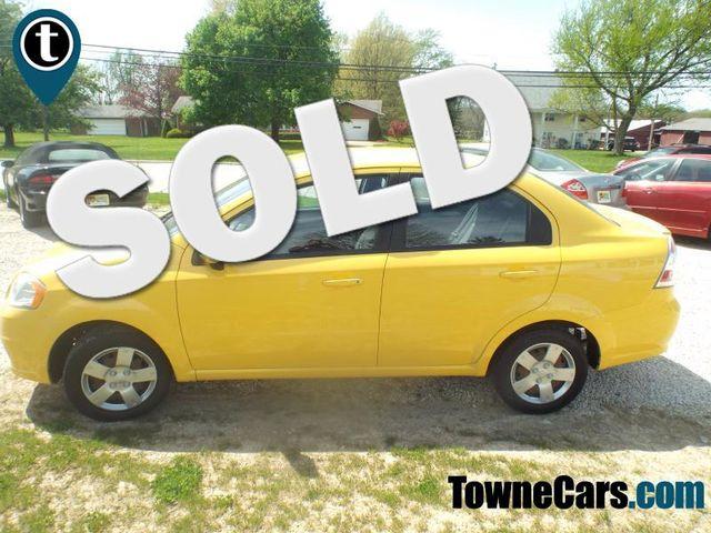 2010 Chevrolet Aveo LT w/1LT | Medina, OH | Towne Auto Sales in Medina OH