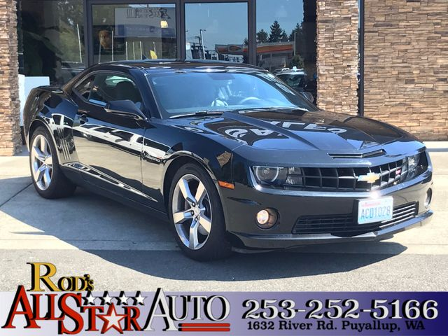 2010 Chevrolet Camaro SS This vehicle is a CarFax certified one-owner used car Pre-owned vehicles