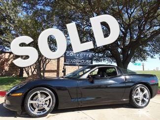 2010 Chevrolet Corvette Coupe 3LT, NAV, NPP, 6SPD, Chromes, 18k! Dallas, Texas
