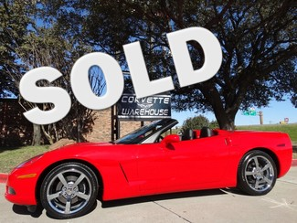 2010 Chevrolet Corvette Convertible 3LT, NAV, NPP, Auto, Chromes, Only 9k! Dallas, Texas
