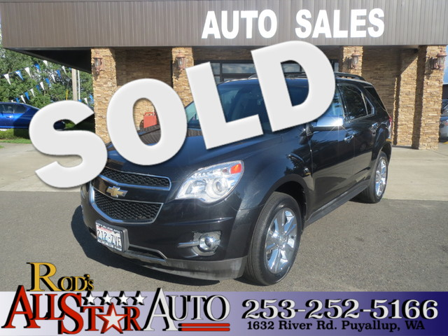 2010 Chevrolet Equinox LTZ AWD The CARFAX Buy Back Guarantee that comes with this vehicle means th