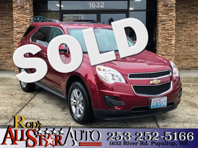 2010 Chevrolet Equinox LT w1LT The CARFAX Buy Back Guarantee that comes with this vehicle means t