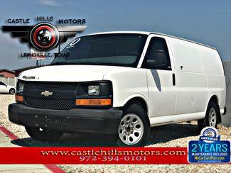 2010 Chevrolet Express Cargo Van Work Van | Lewisville, Texas | Castle Hills Motors in Lewisville Texas