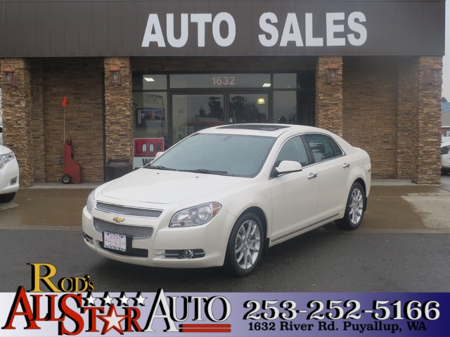 2010 Chevrolet Malibu LTZ The CARFAX Buy Back Guarantee that comes with this vehicle means that yo