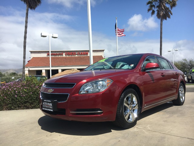 2010 Chevrolet Malibu LT w2LT This is a 2010 Chevy Malibu 2LT Red Exterior Tan LeatherAlcantar