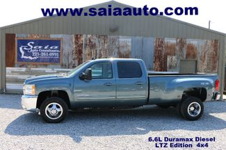2010 Cheverolet 3500hd Crew Cab Diesel Ltz 4wd DUALLY BEDLINER NAVI PWR HTD SEATS LOADED ONE OWNER CLEAN CARFAX READY TO GEAUX | Baton Rouge , Louisiana | Saia Auto Consultants LLC-[ 2 ]