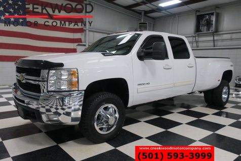 2010 Chevrolet Silverado 3500HD LTZ 4x4 Diesel Dually B&W White Leather Heated in Searcy, AR