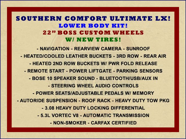 2010 Chevrolet Tahoe LTZ 4X4 - SOUTHERN COMFORT ULTIMATE LX EDITION! Mooresville , NC 1