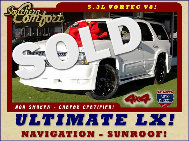 2010 Chevrolet Tahoe LTZ 4X4 - SOUTHERN COMFORT ULTIMATE LX EDITION! Mooresville , NC 0