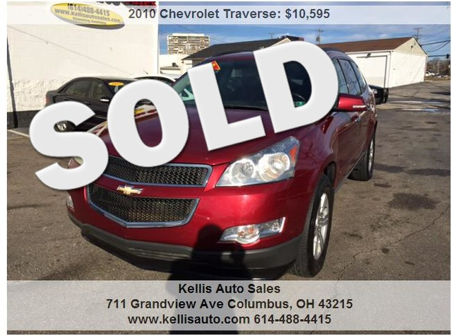Used Cars For Sale Columbus Ohio: 2009 Chevrolet Traverse For Sale