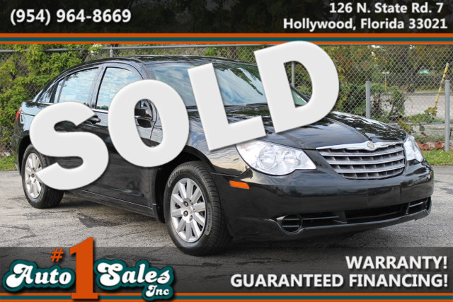 2010 Chrysler Sebring Touring  WARRANTY 2 OWNERS 9 SERVICE RECORDS FLORIDA VEHICLE TRADES W