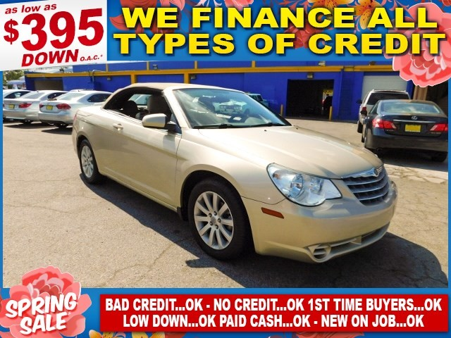 2010 Chrysler Sebring Touring Limited warranty included to assure your worry-free purchase AutoCh
