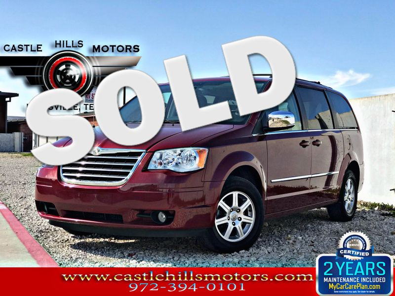 2010 Chrysler Town & Country Touring Plus | Lewisville, Texas | Castle Hills Motors in Lewisville Texas