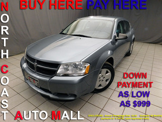 2010 Dodge Avenger SXT As low as $999 DOWN in Cleveland, Ohio