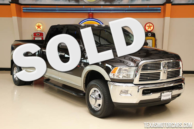 2010 Dodge Ram 3500 Laramie This Carfax 1-Owner 2010 Dodge Ram 3500 Laramie is in great shape with