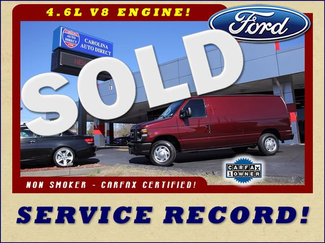 2010 Ford Econoline Cargo Van Commercial E-150 - SERVICE RECORD - 1 OWNER! Mooresville , NC 0