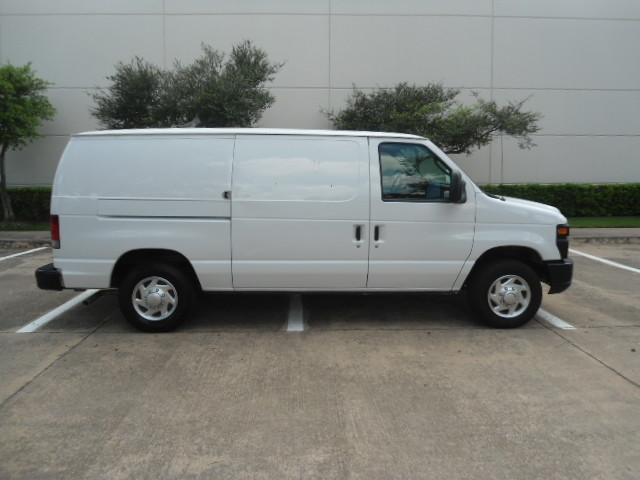 2010 Ford Econoline Cargo Van Commercial Bulkhead & Bins Plano, Texas 1