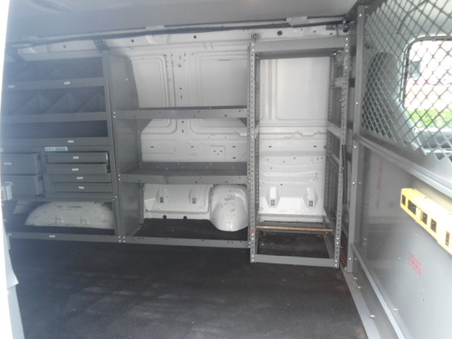 2010 Ford Econoline Cargo Van Commercial Bulkhead & Bins Plano, Texas 10