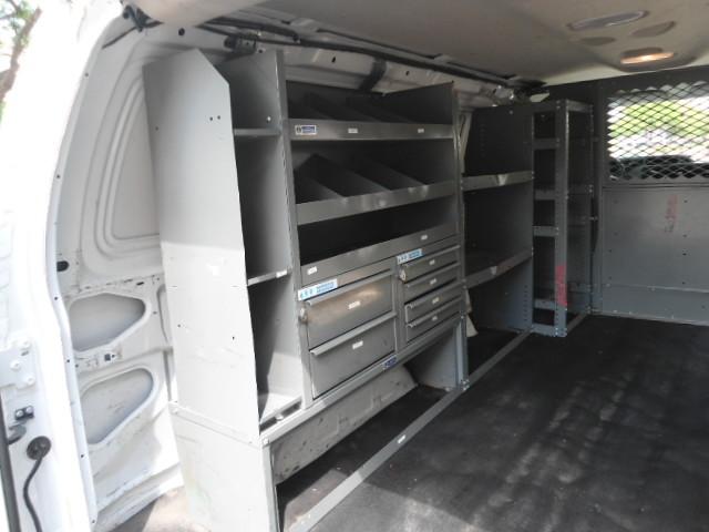 2010 Ford Econoline Cargo Van Commercial Bulkhead & Bins Plano, Texas 12