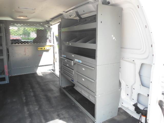 2010 Ford Econoline Cargo Van Commercial Bulkhead & Bins Plano, Texas 13