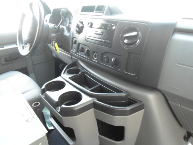 2010 Ford Econoline Cargo Van Commercial Bulkhead & Bins Plano, Texas 25