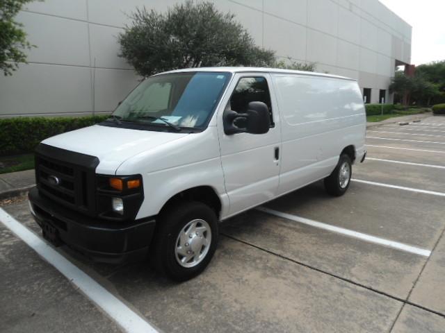 2010 Ford Econoline Cargo Van Commercial Bulkhead & Bins Plano, Texas 6
