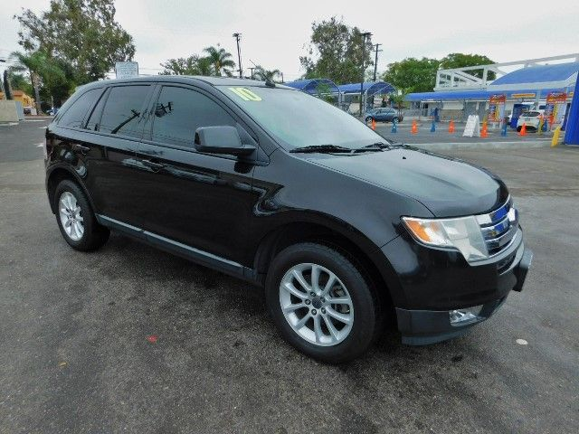 2010 Ford Edge SEL Limited warranty included to assure your worry-free purchase AutoCheck report
