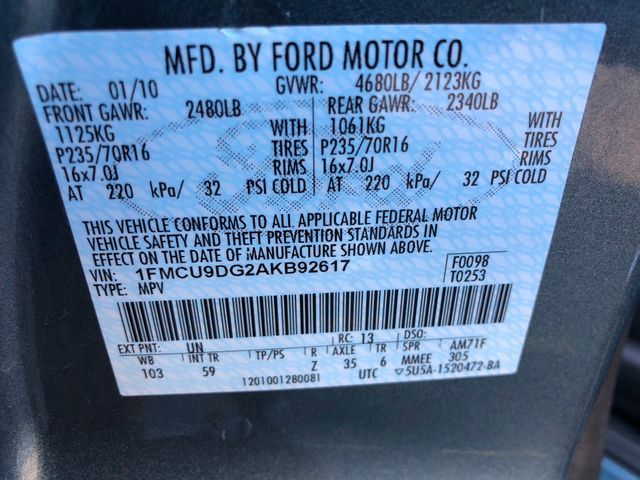 2010 Ford Escape XLT Sterling, Virginia 32