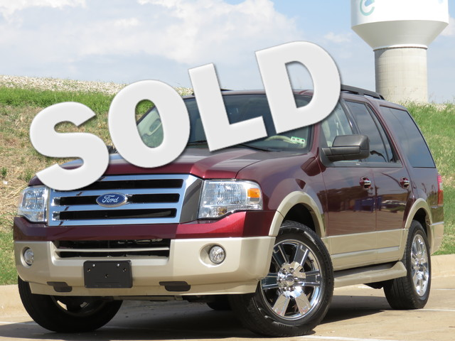 2010 Ford Expedition Eddie Bauer - EDDIE BAUER EXPEDITION IN COPPER OVER TAN Very clean fresh tra