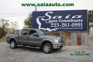 2010 Ford F 150 Supercrew XLT 5.4 V8 4wd in Baton Rouge  Louisiana
