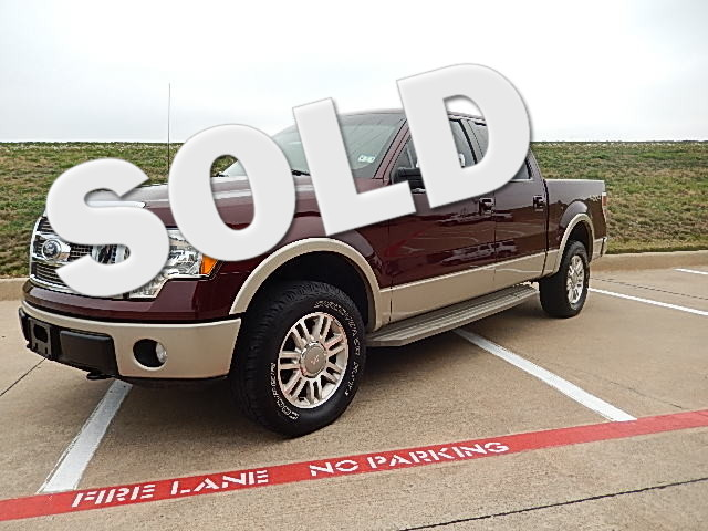 2010 Ford F-150 King Ranch The interior of this truck is in in great condition with the custom ed