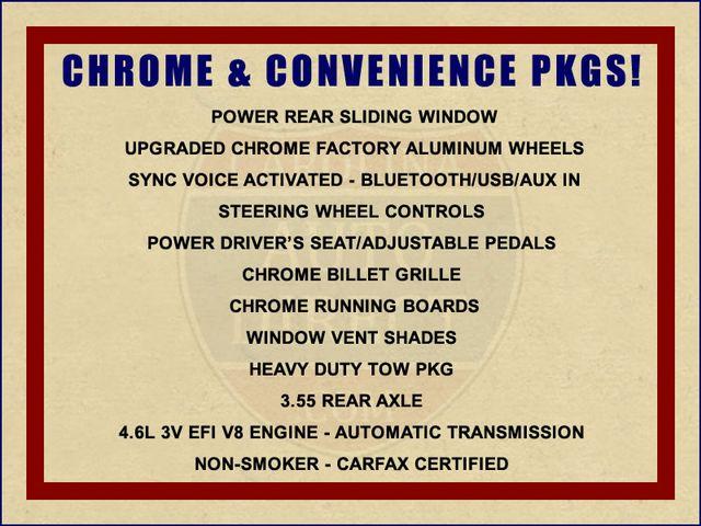 2010 Ford F-150 XLT Crew Cab 4x4 - CHROME & CONVENIENCE PKGS Mooresville , NC 1