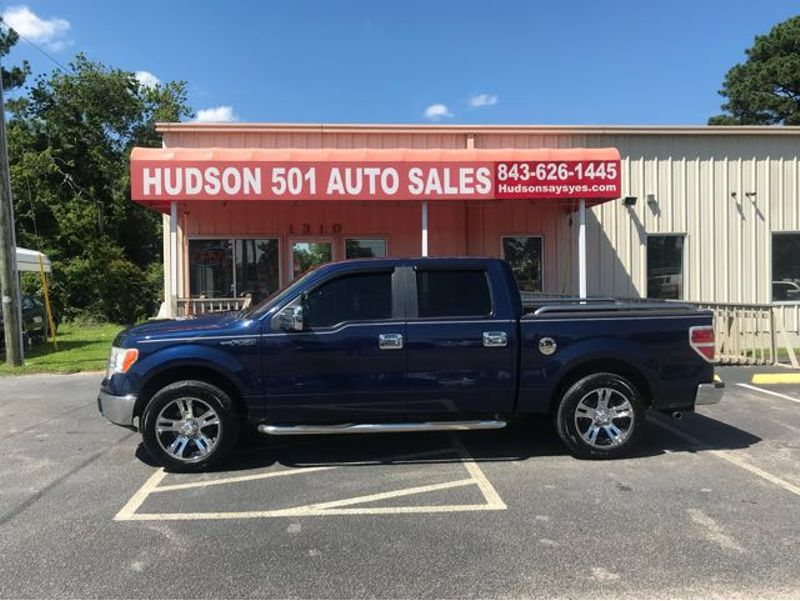 2010 Ford F-150 XL SuperCrew 5.5-ft. Bed 2WD | Myrtle Beach, South Carolina | Hudson Auto Sales in Myrtle Beach South Carolina