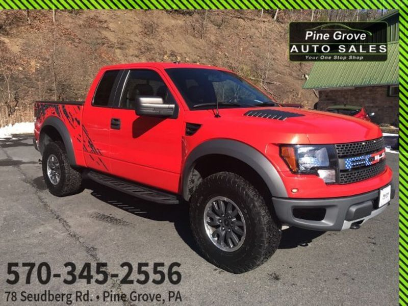 2010 Ford F-150 SVT Raptor | Pine Grove, PA | Pine Grove Auto Sales in Pine Grove, PA