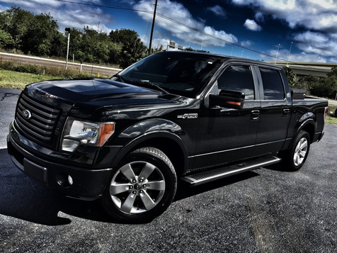 2010 Ford F-150 FX2 SPORT CREWCAB V8 BLACK/BLACK LEATHER in , Florida
