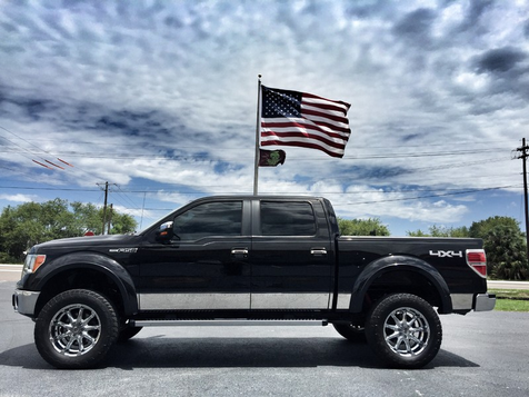 2010 Ford F-150 LARIAT CREWCAB 4X4 V8 LEATHER LIFTED in , Florida
