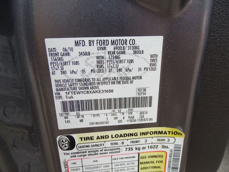 2010 Ford F150 SUPERCREW  in Austin, TX