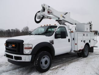2010 Ford F550 Bucket Truck, 37' Altec, 350 lbs., 4X4, Auto ., .