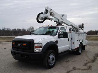 2010 Ford F550 Bucket Truck, 37' Altec, 350 lbs., 4X4, Auto ., .
