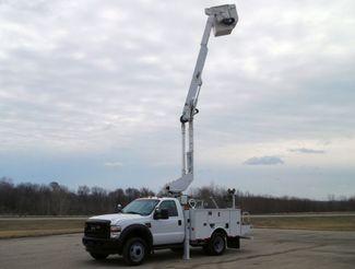 2010 Ford F550 Bucket Truck, 37' Altec, 350 lbs., 4X4, Auto ., . 1