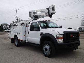 2010 Ford F550 Bucket Truck, 37' Altec, 350 lbs., 4X4, Auto ., . 8