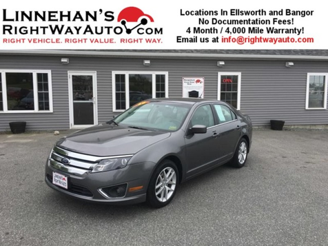 2010 Ford Fusion SEL in Bangor