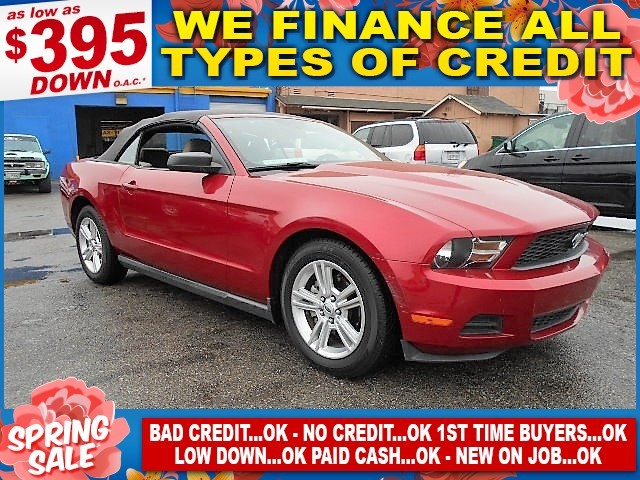 2010 FORD MUSTANG Limited warranty included to assure your worry-free purchase AutoCheck report i