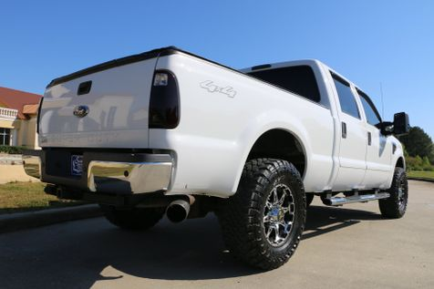 2010 Ford F250 Crew Xlt 4wd 6.4 Diesel Custom Leather PWR SEAT LEVELED 35 TOYOS 18 OUTLAW RIMS LOADED CLEAN CAR FAX SERVICED DETAILED READY TO GEAUX | Baton Rouge , Louisiana | Saia Auto Consultants LLC in Baton Rouge , Louisiana