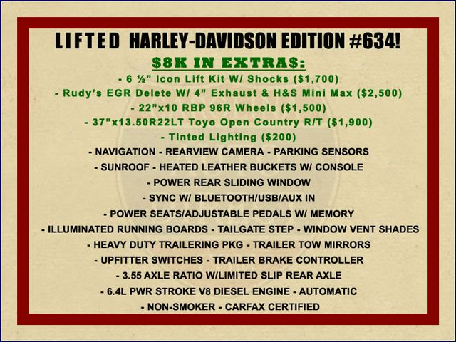 2010 Ford Super Duty F-250 SRW Harley-Davidson Crew Cab 4x4 - LIFTED - EXTRA$! Mooresville , NC 1