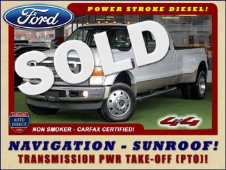 2010 Ford Super Duty F-450 Pickup Lariat Crew Cab Long Bed 4x4 - NAV - SUNROOF! Mooresville , NC